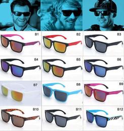 Resin Blocks Wholesale Canada - Promotion most fashion NEW style ken block Sunglasses Men Brand designer Sunglasses sports Glasses men glasses MOQ=50pcs