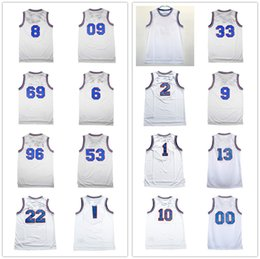 9a482941b tunes squad jersey 2019 - Space Jam 2018 Men White Movie Jersey Tune Squad  Basketball Shirts