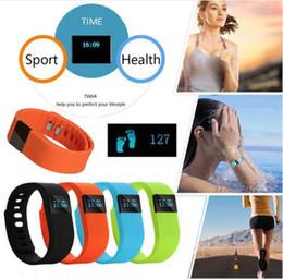 Bluetooth Fitbit Smart Watch NZ - TW64 Waterproof IP67 Smart Wristbands TW64 bluetooth fitness activity tracker smartband wristband watch not fitbit flex fit bit