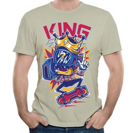8b74e4a3c Teen trendy tshirts Fashionable 2017 new listing tees shirt pattern  customized stylish T-shirt skaters cool street tops KING