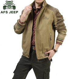$enCountryForm.capitalKeyWord Canada - Big size M - 5XL Jackets 2016 European men AFS JEEP casual brand 100% cotton army green jacket coat man spring khaki jackets casaco #609