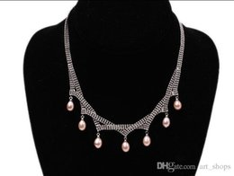 $enCountryForm.capitalKeyWord Canada - Charming Pink tear-drop FreshWater Pearl GP Chain Party Necklace 7x8mm 16inch