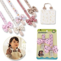 Cadena Dummy Al Por Mayor Baratos-Venta al por mayor-Alta calidad Drop-Resistant babero Correa Nipple cadena bebé chupete clip Chupetas Para Teether Juguete titular Holder maniquí Soother