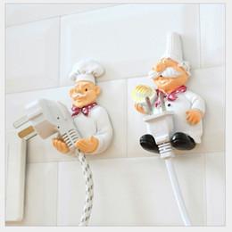 $enCountryForm.capitalKeyWord Canada - chef Design New Storage Shelf Holder Power Plug Holders Rack organizers Socket Wall Mounted Adhesive Hanger Kitchen Accessories