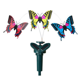 China Simulation Butterfly Solar Remote Control Assembling Novelty Kid Toys Home Garden Decor Revolving Butterflies Creative Gift Hot 8cg KK cheap toys insects suppliers