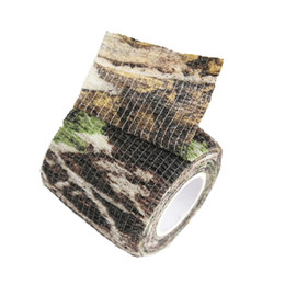 Paintball Camo UK - Elastic Stealth Tape Hunting Camouflage Tape Paintball Stretch Bandage Camo Tape Free Shipping