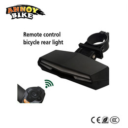 flashlight remote control NZ - Omi Remote Control USB Charging Safety Flashlight Taillight For Bike Bicycle Remote Key Control Cycling Bycicle Light
