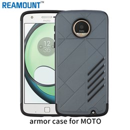 Capa moto online shopping - 100 Hybrid Armor Capa Cases For MOTO Z Play G4 Play Shockproof Double Protection Back Cover Case for MOTO G4