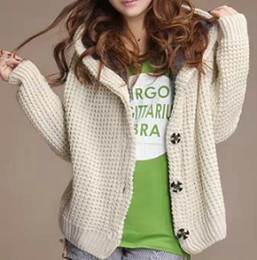 Warm Long Wool Hooded Cardigans Suppliers | Best Warm Long Wool ...