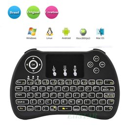 $enCountryForm.capitalKeyWord NZ - H9 2.4GHz Wireless Fly Mouse Gaming Handgrip Mini Keyboards Remote Control for S905X S912 TV Android Box T95 X96