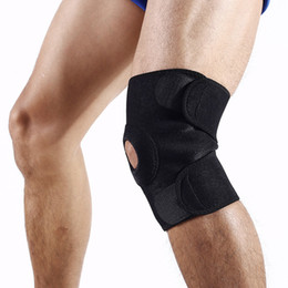 $enCountryForm.capitalKeyWord Canada - 1pc Outdoor Sports Cycling Leg Knee Support Brace Wrap Protector Safety Knee Pads Hook and Loop Closure Adjustable