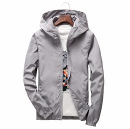 $enCountryForm.capitalKeyWord Australia - 2017 Plus Size Men's Summer Hooded Jacket Waterproof Windbreaker Bomber Jackets Male Casual Zipper Coat Outwear Hombre Chaqueta