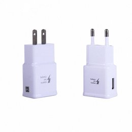 Wholesale Fast Chargers USB wall Charger A Power Adapter Wall Plug for samsung galaxy note tablet ipad