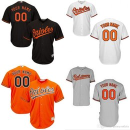 41b881f6 ... inexpensive free shipping custom grey white youth baltimore orioles  customized 2016 new cool base jersey stitched