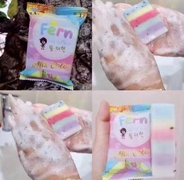 2017 Новые поступления OMO White Plus Soap Mix Color Plus Five Bleached White Gluta Rainbow Soap DHL быстрая доставка