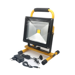 $enCountryForm.capitalKeyWord UK - Edison2011 10W 12V Flood Light Spot Portable LED Rechargeable Floodlight Cordless Rechargeable LED Work Light Lamps Weather Resistant