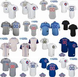 new arrival 2c254 8c6b4 mens chicago cubs customized blue throwback jersey