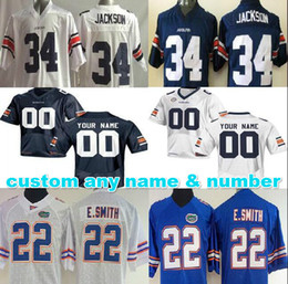 0b4dbc2f6 ... Navy Blue Personalized Men women youth kids customized Auburn Tigers  jerseys custom Florida Gators Jerseys Rugby Jerseys any ...