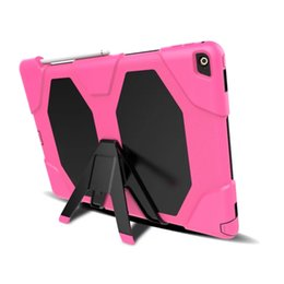 Discount ipad rugged - Military Heavy Duty ShockProof Rugged Impact Hybrid Tough Armor Case For IPAD 2 3 4 AIR 1 AIR 2 PRO 9.7 IPAD 2017 9.7 PR