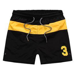 Small Short men online shopping - Swimming Clothing Men Summer Board Shorts Number Printed Beach Shorts Men Surf Shorts Small Horse Swim Trunks Sport de bain homme
