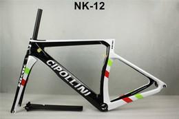Cheap Framed Bikes Canada - Special offe ! cheap carbon frame road bike 2017 Cipollini NK1K frames racing bike chinese carbon road frame T1100 carbon bikcycle frameset