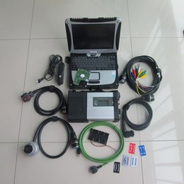 Chinese  for mb star c5 diagnostic tool car and truck newest hdd 320gb with laptop cf-19 ready to use manufacturers