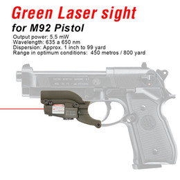 PPT New Arrival M92 Red Laser Sight Laser Device Filly Adjustable for Windage and Elevation Free Shipping CL20-0020 on Sale