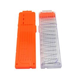 SportS magazineS online shopping - For Nerf N Strike Elite XD Rapidstrike Magazine Clip Dart Transparent Clip Dart Orange Clip Toy Gun Accessory