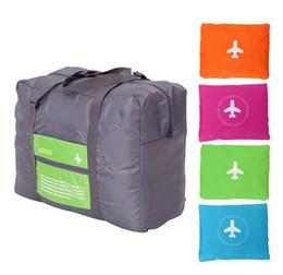 $enCountryForm.capitalKeyWord UK - 50pcs Korean Hand Bag Folding Luggage Bag Waterproof Bag of Large Capacity Aircraft Package