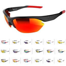 Bicycle Sales NZ - Hot Sale Men Bike Sunglasses Brand Design Women Reda Pitch Logo Bicycle Sports Multi Frame Outdoor Cycling Mirror Sun Glasses