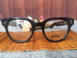 afca9941b2a johnny depp eyeglasses brand 2019 - 2016 New Arrived Fashion brand retro  vintage brand Moscot VILDA