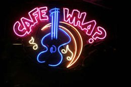 "$enCountryForm.capitalKeyWord NZ - Cafe WHA Guitar Neon Sign New York City Music Bar Store KTV Club Pub Customized Real Glass Advertised Display Neon Signs 19""X15"""
