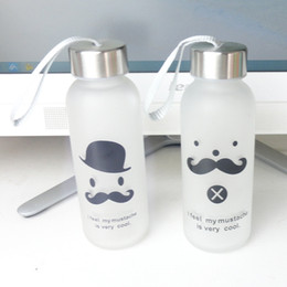$enCountryForm.capitalKeyWord Canada - 1PC Glass Water bottles hot sale creative cute juice tea coffee thermos nice readily Lightweight and portable space cup J3060