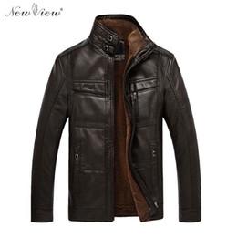 $enCountryForm.capitalKeyWord Canada - Wholesale- Leather Jacket Winter Autumn Thick Warm Fur Coat Men Mandarin Collar Motorcycle PU Leather Parka Plus Size 4XL Jaqueta De Couro