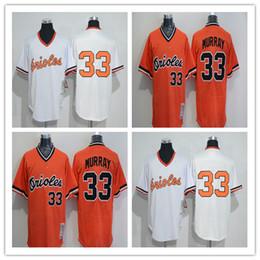 fd93644c261 ... Orange softball jerseys Top quality 2017 baltimore orioles Mens 33  Eddie Murray Cool Base MLB Jersey cheap Embroidered baseball .