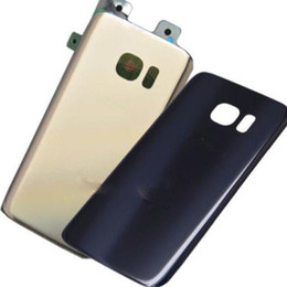 Discount bar glasses - Original New Glass Battery Housing Door Case Cover For Samsung Galaxy S7 G930F S7 Edge G935F