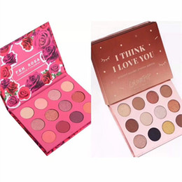 $enCountryForm.capitalKeyWord Canada - Colourpop Cosmetics X Karrueche Karrueche Fem Rosa She I think i love you Pressed Powder Eyeshadow Palette 12 color Eye shadow