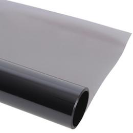 China Wholesale- 0.5*3m Light Gray uv+insulation Car Window Tint Film VLT 45% 2 ply Solar Protection Film supplier solar film car suppliers