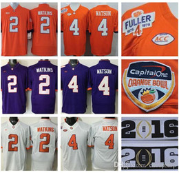 Limited 2016 NCAA Playoff National Championship Patch 2017 Orange Bowl Clemson  Tigers Jerseys Mens Clemson Tigers 2 Sammy Watkins ... 48e7f45bb