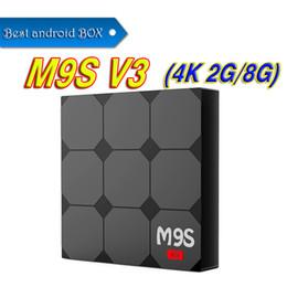 4.4 2gb 8gb Box NZ - 2GB 8GB Rockchip RK3229 Android 6.0 TV BOX Unterstützung H.265 4 Karat 60tps H.265 2,4 GHz WiFi BT2.1 Media Player IPTV Box TX2 M9S V3
