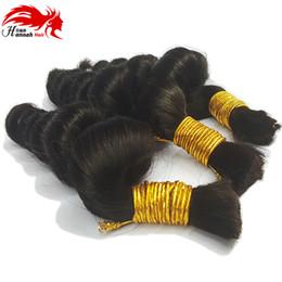 Loose wave human braiding hair online shopping - Human Hair For Micro Braids Bulk Hair No Weft Brazilian Virgin Remy Hair braiding Loose Wave