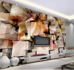3D Stereo Fantasy Living Room TV Wall Decorative Painting Mural 3d  Wallpaper 3d Wall Papers For Tv Backdrop Fantasy Wall Murals For Sale