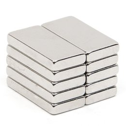 $enCountryForm.capitalKeyWord Canada - 10pcs 18.9*9.4*2.7mm Block N52 Rectangular Magnet Rare Earth NdFeB Neodymium Permanent Magnet
