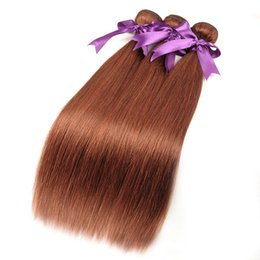 hair 33 2019 - 33 Color Peruvian Straight Weave Human Hair Bundles 12-26inch 3 or 4 Bundles Weft Hair Extension Can Be Restyle cheap ha