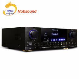Nobsound PM1000 Professional KTV karaoké Amplificateur Bluetooth Puissance 250W + 250W Support MP5 USB / SD Lecture APE Support musique 220V et 110V