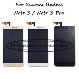 Hongmi redmi note online shopping - Black White Gold LCD TP For Xiaomi Hongmi Redmi Note3 Pro Note pro LCD Display Touch Screen Digitizer Smartphone Replacement