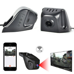 Car dvr wifi online shopping - WIFI P Playback Hidden Car DVR HD Video Camera Recorder Night Vision Dashboard Vision Veicular Camera video Registrator Car DVR