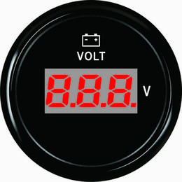 """atv digital meters 2019 - Warranted Digital Voltmeter Volt Gauge Meter 8-32V 52mm(2"""") With Backlight For ATV UTV Automobile Marine discount a"""