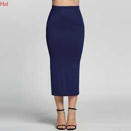 Long Fitted Skirts Splits Online | Long Fitted Skirts Splits for Sale