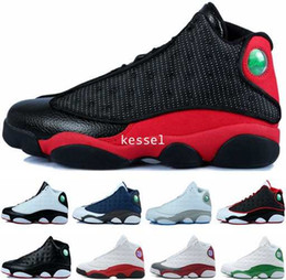 cheap basketball shoes for men Canada - 2017 Cheap 13 XIII Basketball Shoes For Men High Quality Mens 13s Athletic Sports Sneakers Trainers Shoe Black Red Size US 7-12